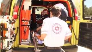 סרט תדמית רפואת חירום באוניברסיטת בן גוריון בנגב