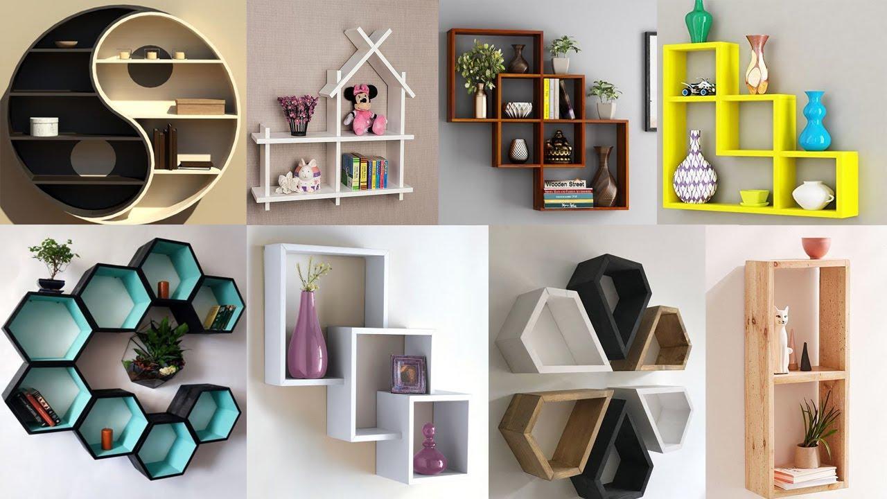 Top 80 Corner Wall Shelves design ideas 2020   Wooden Bookshelf   Creative DIY wall Shelf Designs