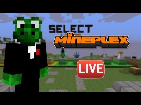 🔴 LIVE: Super Smash Mobs 🎮 Mineplex