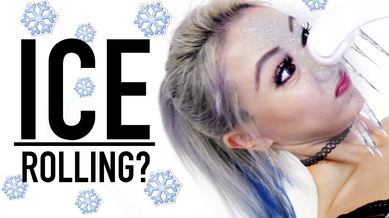 Smaller Face Hack With Ice Wengie Youtube