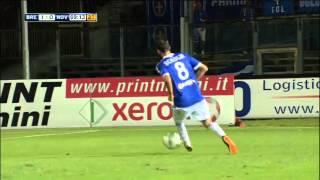 Sintesi Sky Brescia-Novara 1-1