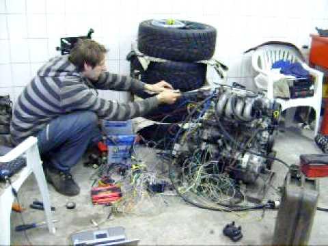 etitech suzuki swift gti turbo engine first start - youtube