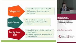 Ensayos en síncope y arritmología clínica. Dra. Maria Fe Arcocha.