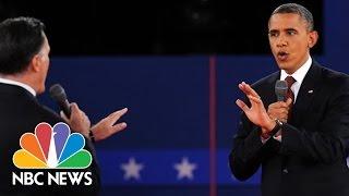 The Evolution Of Presidential Debates | NBC News