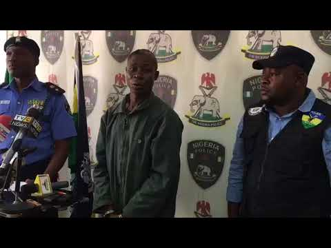 Police parade suspected mastermind of New Year's day massacre in Rivers