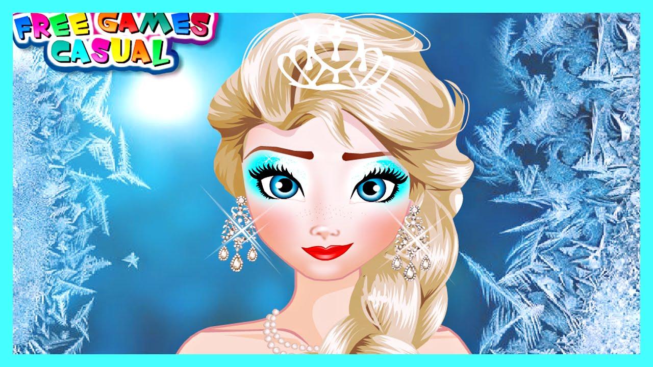 Elsa Makeup School Disney Frozen Games Tutorial Trick Y8 Hairwajidi Co