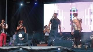 Ivan Ellis performs Black Hoodie @ African Fest! (KS Bliss Media)