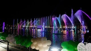 14 August Pakistan independence Day Fountain Dance