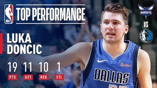 Luka Doncic Records His 3rd TRIPLE-DOUBLE | February 6, 2019