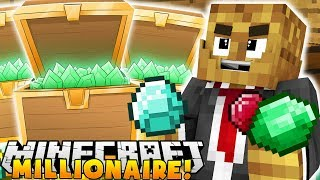 GETTING $1,000,000 AND BEATING THE PACK!?  - MINECRAFT MILLIONAIRE MOD PACK #6