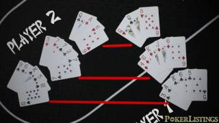How to Play CHINESE POKER - Rules, Scoring, How to Keep Score screenshot 5