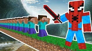 ÖLÜRSEN DOĞAL AFETE DÜŞERSİN! - Minecraft