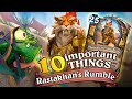 10 important things about Rastakhan's Rumble. All You Need To Know About New Hearthstone Expansion.