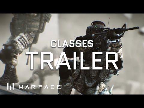 Warface - Trailer - Classes