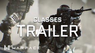 Video Warface - Trailer - Classes download MP3, 3GP, MP4, WEBM, AVI, FLV Juli 2018