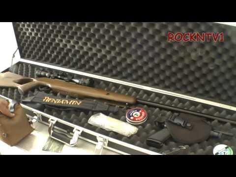 GUN CASE: Aluma-dot TACTICAL Double Rifle Hard Shell Case