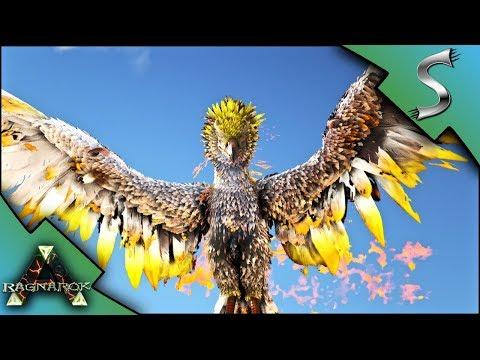 PHOENIX TRAP TAMING! PHOENIX BREEDING & MUTATIONS! - Ark: RAGNAROK [DLC Gameplay E61]
