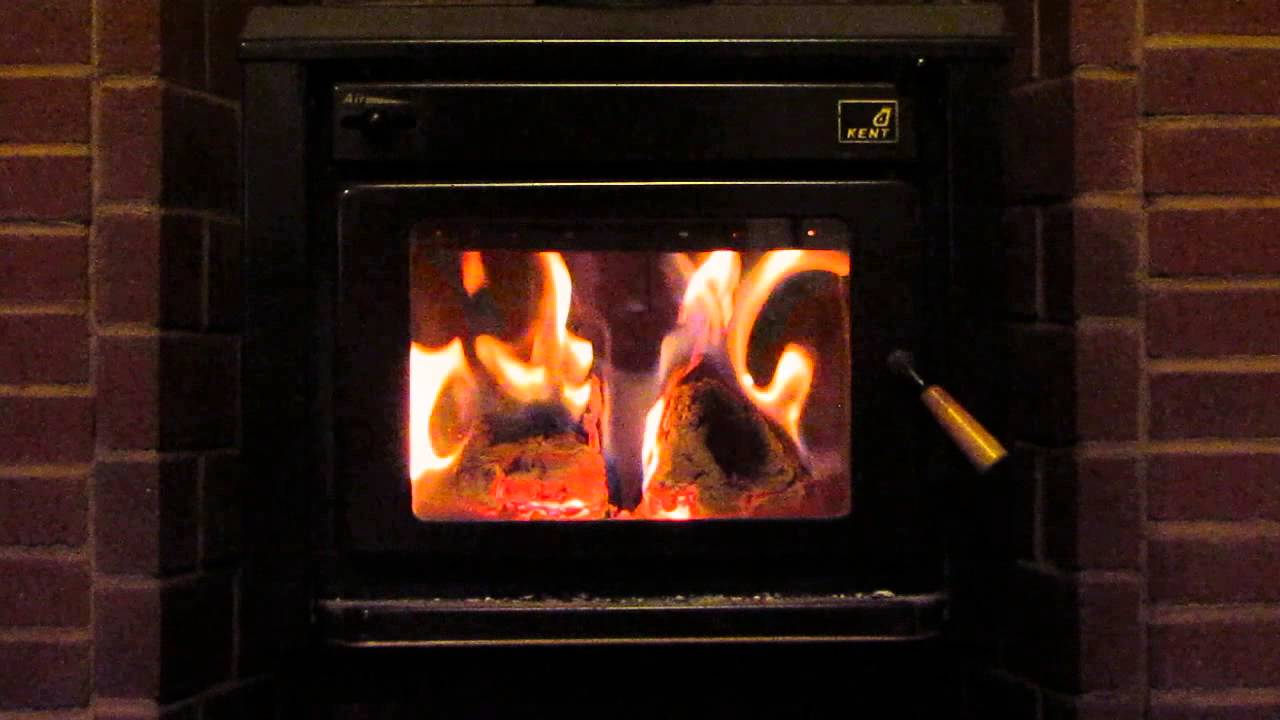 Kent Tile Fire Wood Stove Youtube