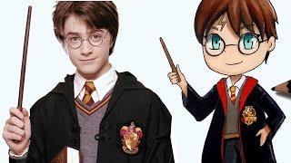 Comment dessiner Harry potter en version Chibi [Tutoriel]