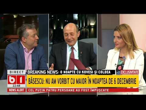 Traian Băsescu: Nu i-aș dori lui Liviu Dragnea să se redeschidă dosarul Referendumului