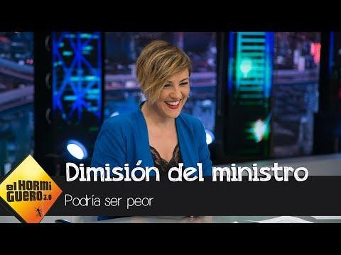 """""""El ministro más efímero"""", Cristina Pardo sobre la Màxim Huerta - El Hormiguero 3.0"""