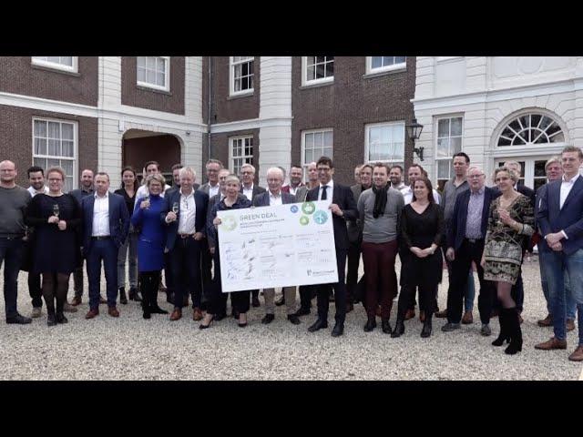Ondertekening Greenbiz Green Deal in Chateau Marquette