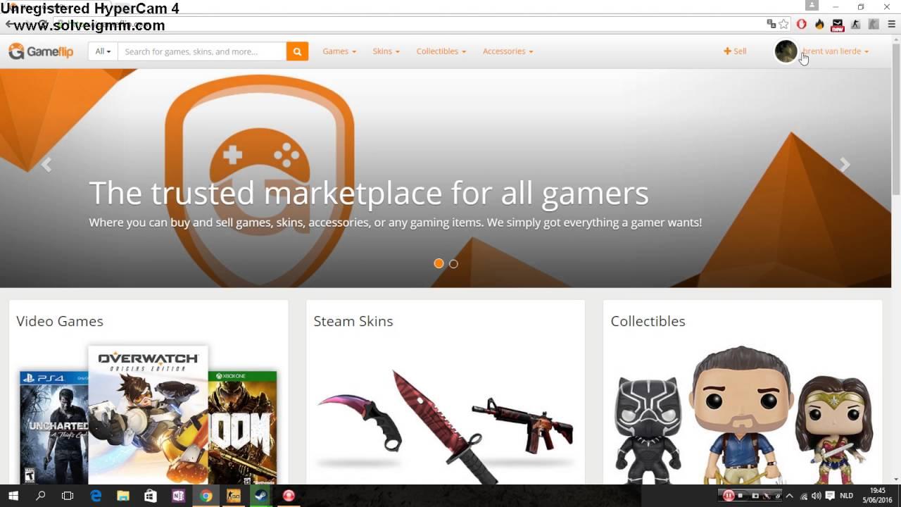 CSGO : How to get free 1 dollar on gameflip com !!! Freecsgo keys and skins  !