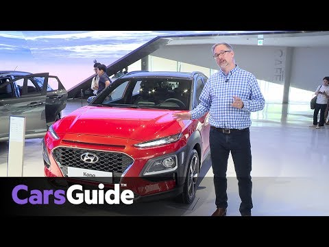 Hyundai Kona 2017 SUV revealed and reviewed quick first drive video