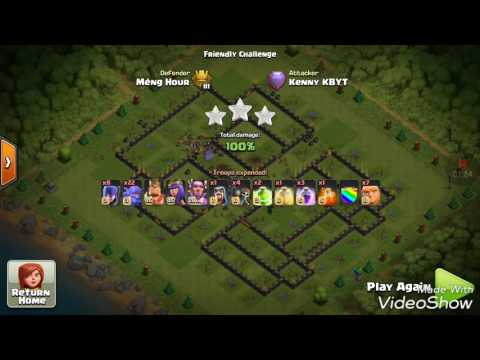 4 Lava 24 balloons with clone spell dump Th11 max, new style incredible attack war base