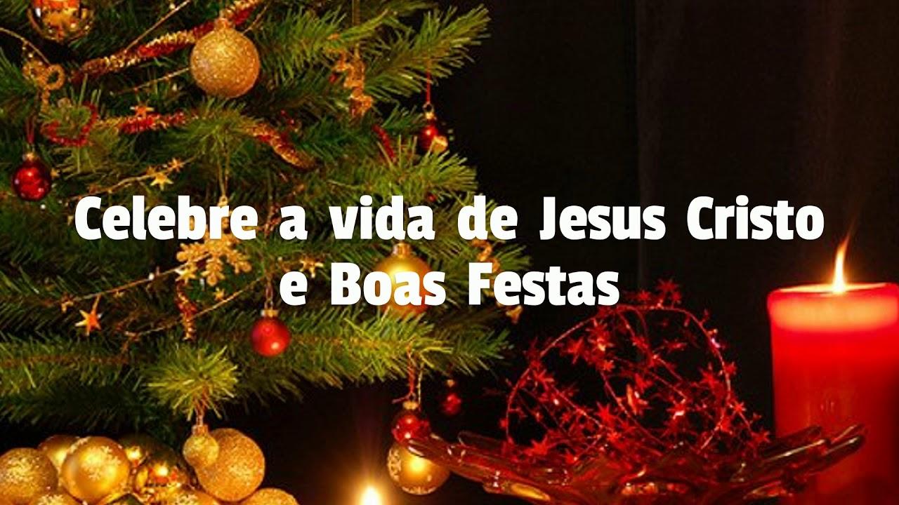 Vídeo Capa De Natal Para Facebook