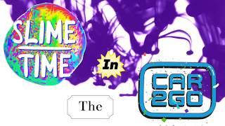 SLIME TIME IN THE CAR! // Emoji Emmy //