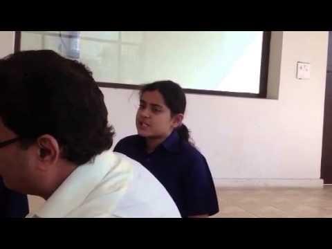 Indus world school Hindi class
