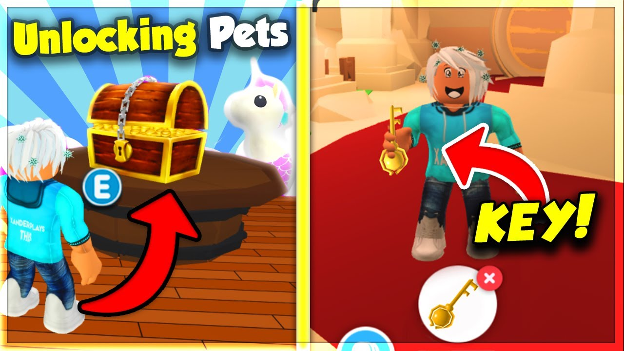 This New Treasure Chest Gives Legendary Pets And Items In Adopt Me Roblox Youtube