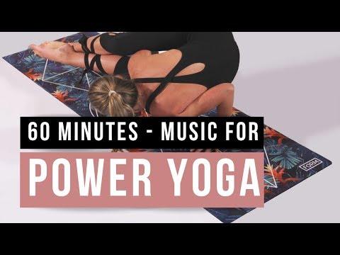Music for Power Yoga practice. 60 min Yoga music Power flow.