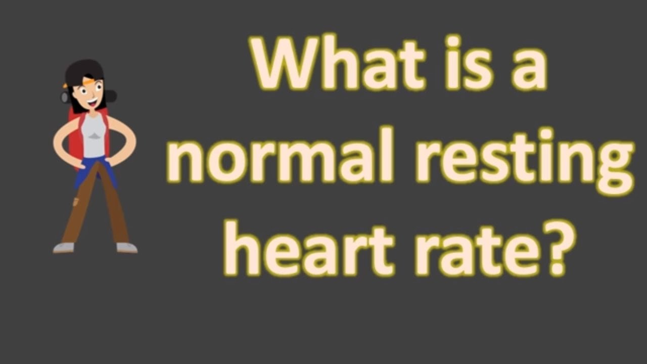 Resting heart rate adults