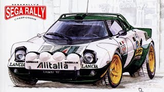 Sega Rally 2 (1999) PC Gameplay - Arcade Championship