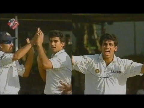 Zaheer Khan Dismantles Jayasuriya's Stumps | Zak's Fiery Opening Spell vs SL, 2nd Test 2001 at Kandy