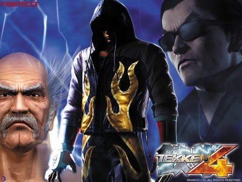 Tekken 4 Game full movie (mishima saga) (HD)