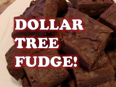 2 INGREDIENT DOLLAR TREE FUDGE!