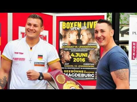 Tom Schwarz (16-0) vs Dennis Lewandowski (9-0) Prediction Heavyweight Boxing WBO Youth Title