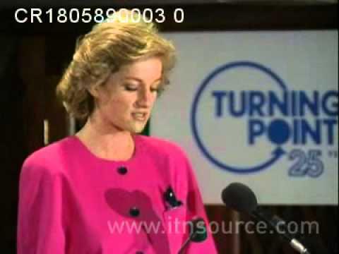 Princess Diana Speech on Addiction