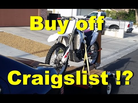How to buy a Dirt Bike off Craigslist!