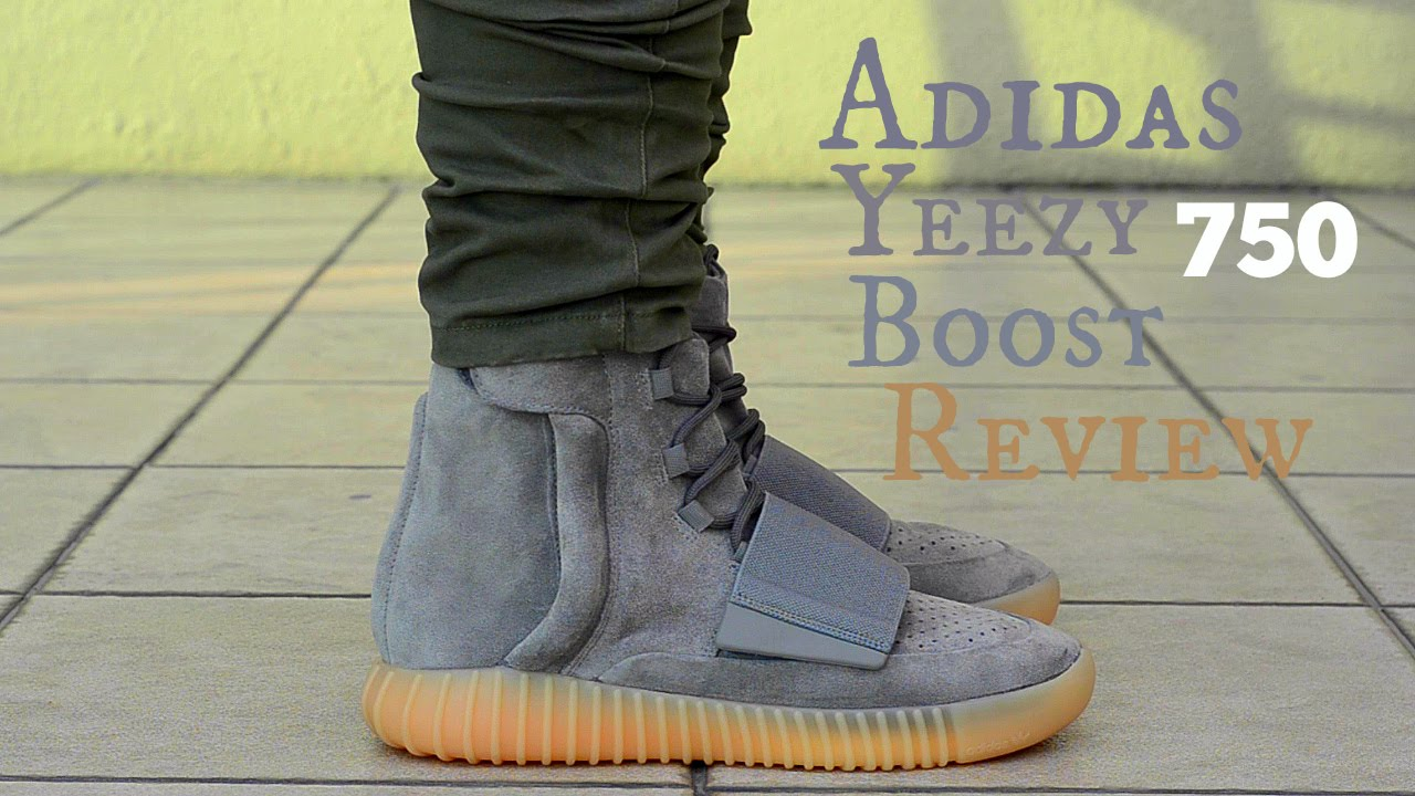 e71eca30dcb Adidas Yeezy Boost 750 Gum Detailed Review + On Feet - YouTube
