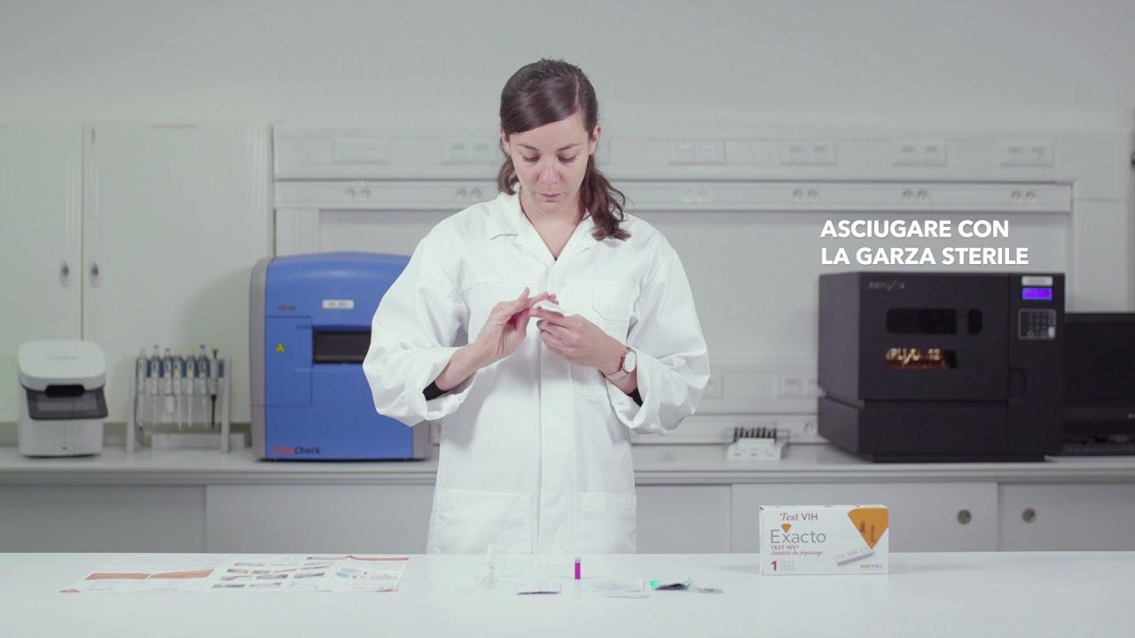 Download Biosynex - EXACTO Test HIV - Auto-test di screening - in italiano