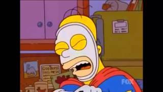 Los Simpson - El Hombre Pie Herido