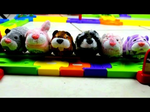 Zhu Zhu Pet Toys cause TROUBLE: Featuring Smart Wheels Playset and Block Tower