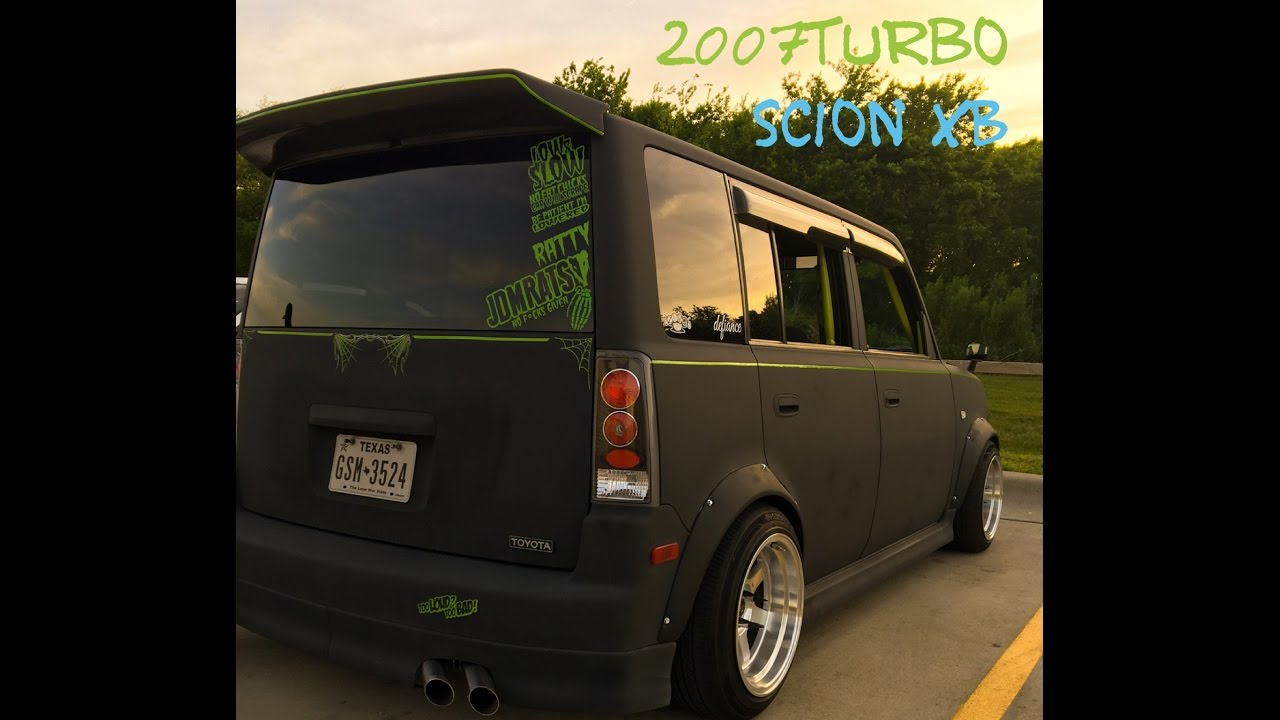 hight resolution of frankin boost scion xb