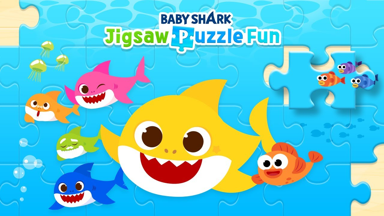 [App Trailer] Baby Shark Jigsaw Puzzle Fun | Пинкфонг Игры для Детей