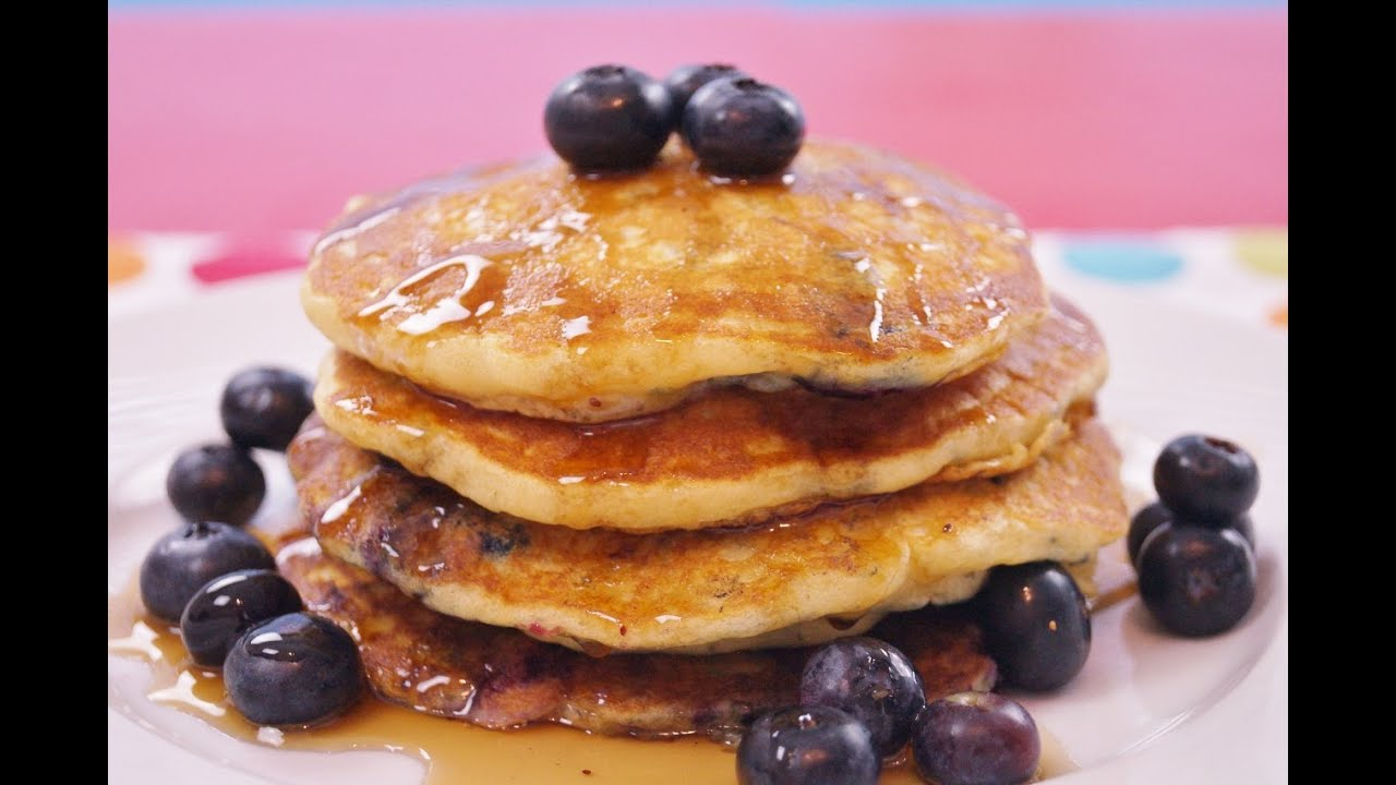 easy pancakes from scratch blueberry pancakes recipe how to make pancakes best from 30255