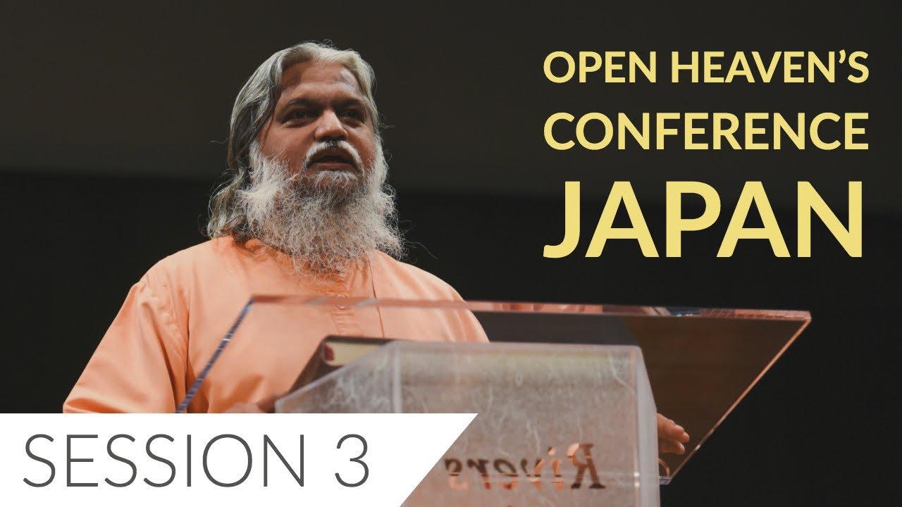 Sadhu Sundar Selvaraj   Open Heavens Conference Japan